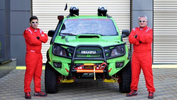 Isuzu D-Max 4X4 en zorlu  Ralli kategorisinde yarışacak