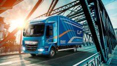 Yılın filo kamyonu 'DAF LF' oldu