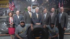 Continental Mississippi'deki yeni lastik fabrikasını törenle açtı