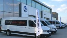 Yeni Volkswagen Crafter Avek Çanakkale'de Tutkunları ile Buluştu