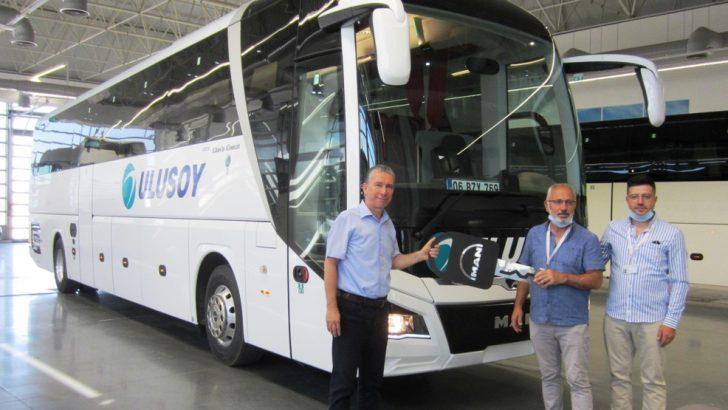 ULUSOY Bireysel yatırımcısı GENOL Turizm de  ''yola ödüllü MAN Lion's Coach ile devam'' dedi