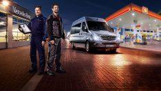 Mercedes-Benz Hafif Ticari Araçlar'dan akaryakıt hediyeli servis kampanyası