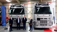 Ersan Kargo'ya Volvo FH500 teslimatı gerçekleştirildi