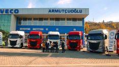 IVECO'dan Trabzon'a 8 adet S-WAY çekici