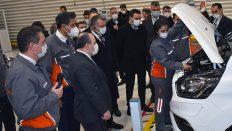 Sanayi ve Teknoloji Bakanı Varank, Ford Otosan'ın yeni yatırımlarını yerinde inceledi!