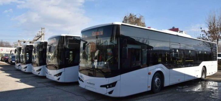 Isuzu Citiport 12 Makedonya'nın Tetovo şehrinde yollara çıktı