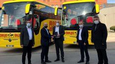 Mercedes-Benz Türk'ten 2021'in ilk otobüs teslimatı Asya Tur'a