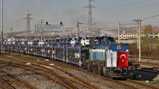 OMSAN Lojistik, Marmaray ile deniz altından otomobil taşıyarak dünyada bir ilke imza attı