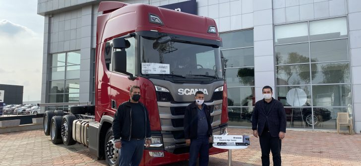 Scania'dan kırkayak teslimatı