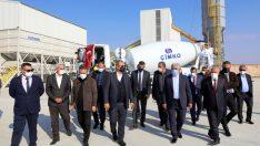 Çimko Çimento 25'inci tesisini Turpak ile açtı