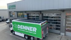 Renault Trucks kamyonlarını güneş paneliyle donattı