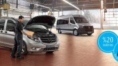 Mercedes-Benz Hafif Ticari Araçlar'da kış kampanyası