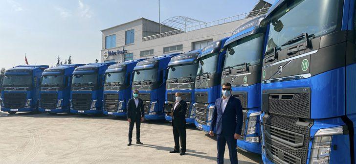 Rastkaya Nakliyat 10 adet Volvo Trucks ile filosunu güçlendirdi