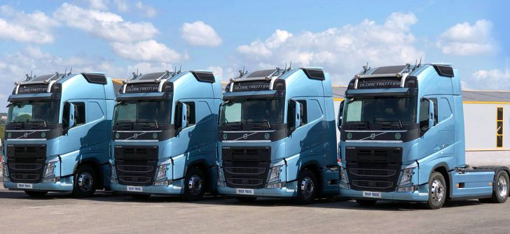 Trans 33 Lojistik filosuna 5 adet Volvo FH500 TC daha kattı