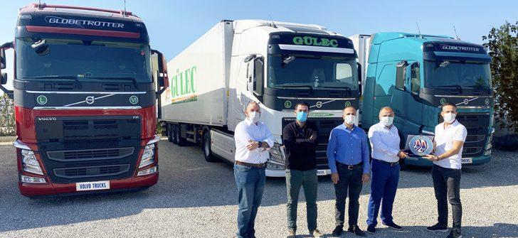 Güleç Transport, Volvo FH çekicilerle filosuna güç kattı