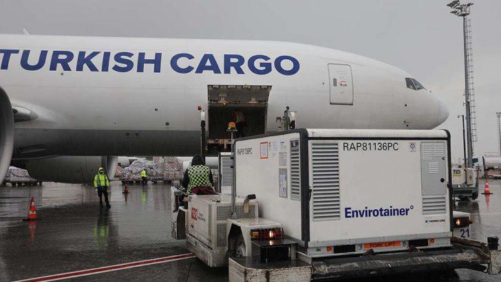 Turkish Cargo, 100 Milyon Doz Aşıyı Dünyanın Dört Bir Yanına Taşıdı