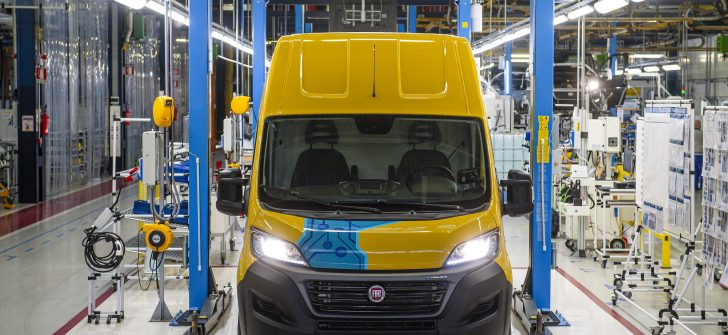 İlk 100 adet yeni elektrikli Fiat E-Ducato'yı DHL Express satın aldı