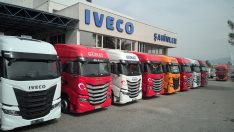 IVECO'dan  2021 yılının en renkli teslimatı