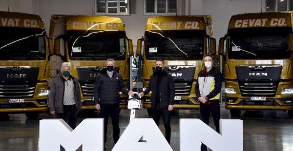 Cevat Logistics, 61 araçlık MAN yatırımının ilk grubunu teslim aldı