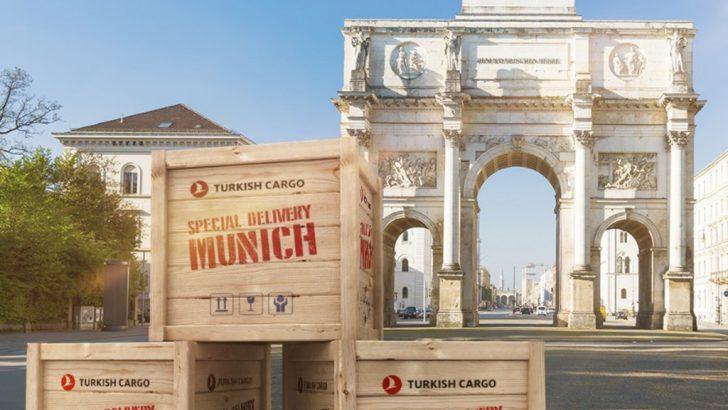 Turkish Cargo, Almanya'nın teknoloji başkenti Münih'i kargo uçuş ağına ekledi