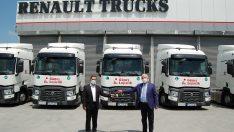 Güneş Lojistik filosuna yeni Renault Trucks'lar katıyor