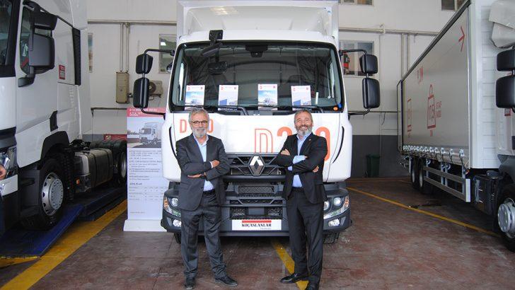 D-MED kamyonu rotasını tamamladı