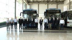 TEMSA-ASELSAN ortak üretimi Türkiye'nin ilk yerli elektrikli otobüsü banttan indi