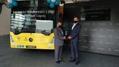 Yeni İstanbul Halk Otobüsleri A.Ş.'ye 10 adet Mercedes-Benz Conecto Solo teslimatı gerçekleştirildi