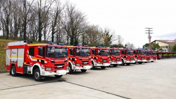 Vizcaya İtfaiyesinin Başrolünü, Allison Şanzımanlı Scania Kamyonlar Alıyor