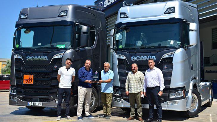 Scania'nın 770 hp Gücündeki V8 motorlu modelinin, Türkiye'deki İlk Teslimatı Olcayto Toker Petrol'e !