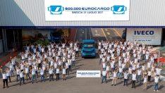 IVECO, Brescia fabrikasında üretilen 600 bininci Eurocargo'yu kutluyor!