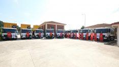 Yalova Belediyesi, Onuncu Mercedes-Benz Atego'sunu filosuna ekledi.