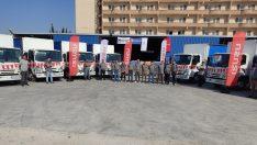 Anadolu Isuzu Matador Yoldaş'a 15 adet NPR model kamyon teslimatı gerçekleştirdi.