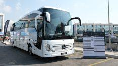 Mercedes-Benz Türk, 41 farklı yeniliğe sahip otobüslerini otobüs severlerle buluşturuyor