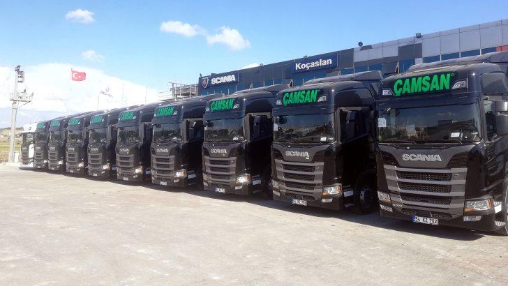 """Çamsan """"Scania ile devam"""" dedi"""