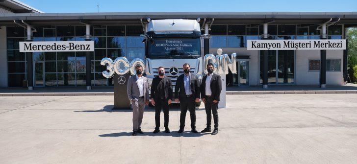 Aksaray Kamyon Fabrikası'nın 300.000'inci Kamyonu, Transaktaş Global Lojistik Filosunda!