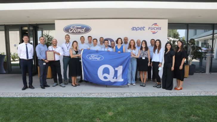 "Opet Fuchs'un Aliağa'daki madeni yağ tesisine Ford Q1 Kalite Sertifikası"""