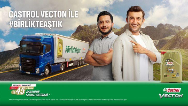 Castrol VECTON Türkiye'nin en zor yolunu oyuncu Necip Memili ve Yiğit Yusuf Gölbaş ile birlikte aştı
