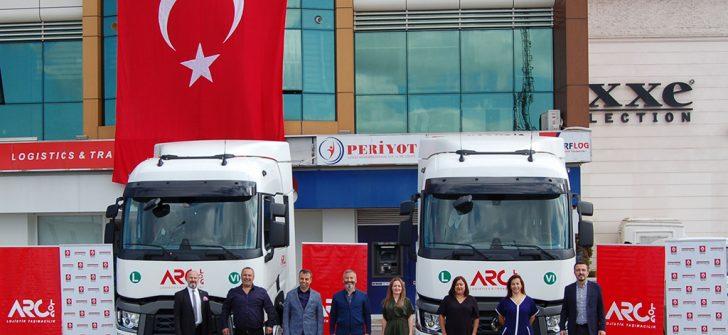 ARCLOG'un yeni Renault Trucks çekicileri yola çıkıyor
