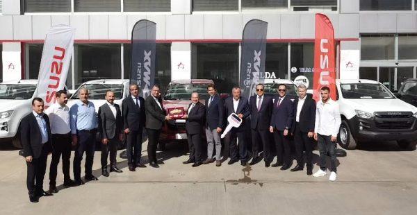Anadolu Isuzu'dan Gaziantep'e D-Max teslimatı