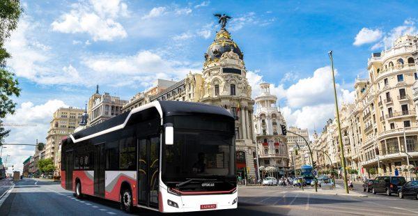 Otokar'ın elektrikli otobüsü Kent Electra'nın Avrupa tanıtımları devam ediyor