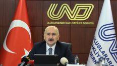 Karaismailoğlu: Türkiye ihracatı karayolu sayesinde artmaya devam etti