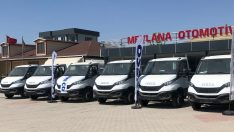 IVECO'dan Ankara'da Daily kamyon teslimatı