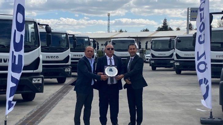 IVECO'dan Ankara'da Eurocargo kamyon teslimatı