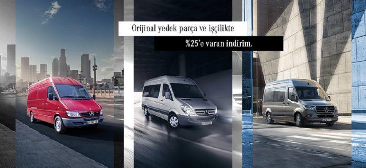 Mercedes-Benz Hafif Ticari Araçlar'dan Özel Servis Kampanyaları !